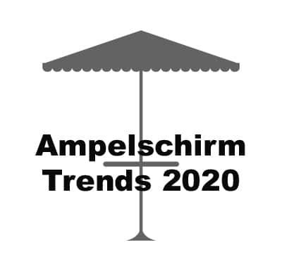 Ampelschirm Trends 2020: Wir kennen alle Trends.